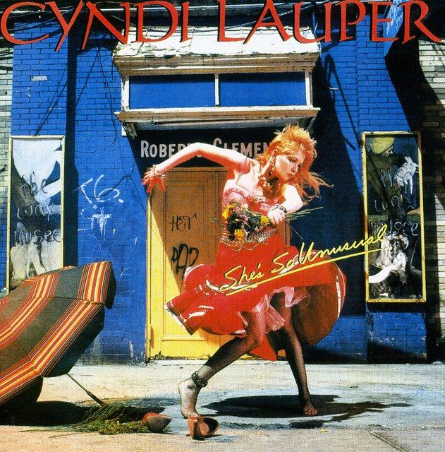 Cyndi Lauper/She's So Unusual