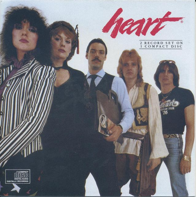 Heart/Greatest Hits:Live